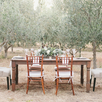 Rustic Reception Style