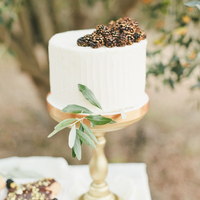 Fresh Fruit Mini Wedding Cake