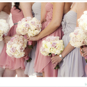 1385187673 thumb photo preview pink lavender ivory dress flowers bridemaids