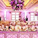1385190076 thumb photo preview 24 pink and purple hanging wedding decor ideas 14