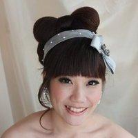 Silk Bowtie Headband
