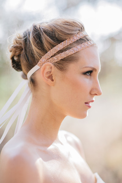 Pink Double Strand Headband