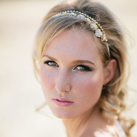 Heart Shaped Rhinestone Headband