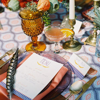 Vibrant Fall Place Setting
