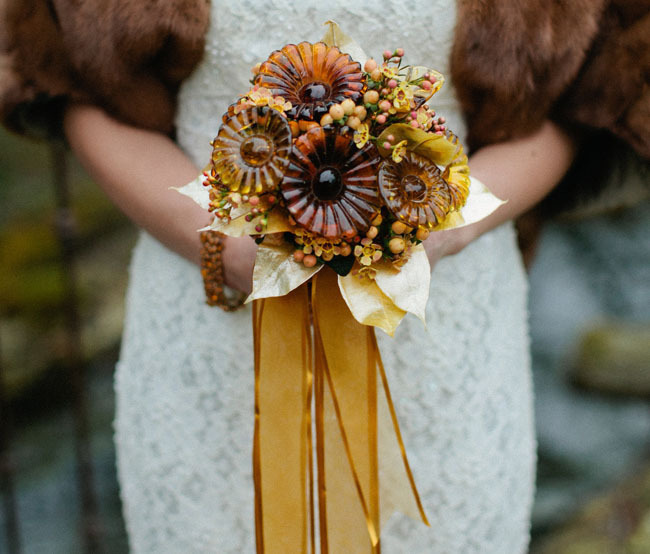 Fall Bride Alternative Bouquet