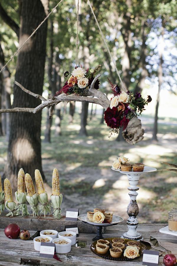 Harvest Inspired Wedding Decor