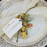 Harvest Inspired Place Setting