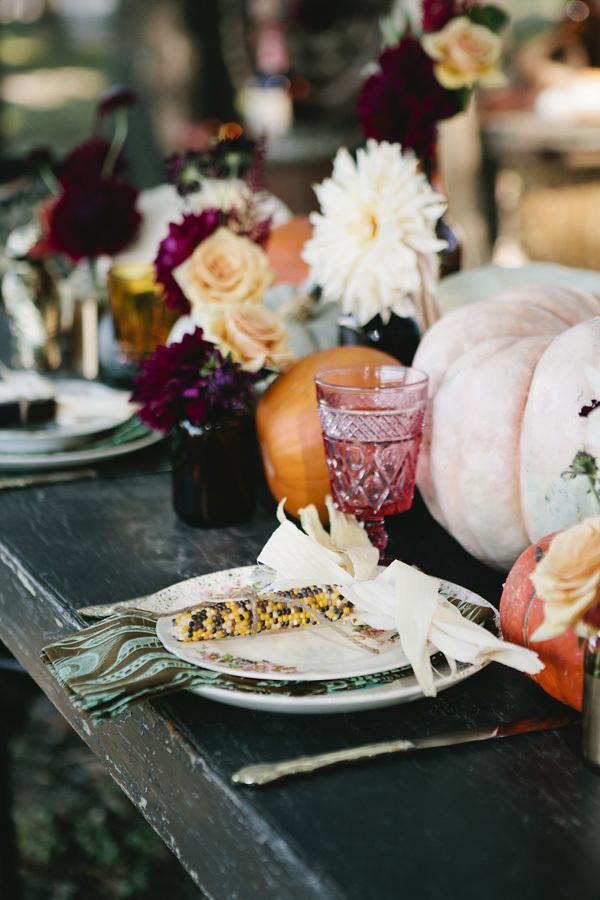 Harvest Inspired Table Setting