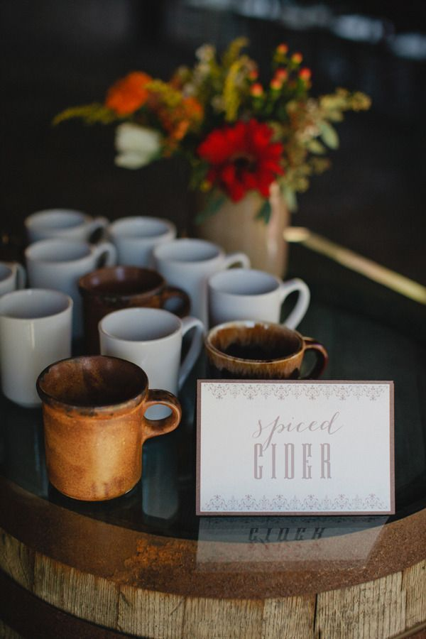 Fall Hot Beverage Bar