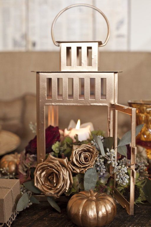 Gold Fall Centerpiece
