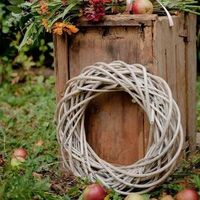 Flowers & Decor, orange, red, burgundy, brown, Eco-Friendly Wedding Flowers & Decor, Fall Wedding Flowers & Decor, Rustic Wedding Flowers & Decor, Branches, Grey, Wreaths