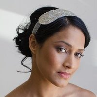 Extra Wide Beaded Headband