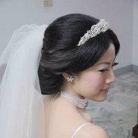 Floral Rhinestone Headband