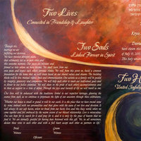 Two Hearts Ketubah