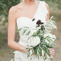 Greenery Bride's Bouquet