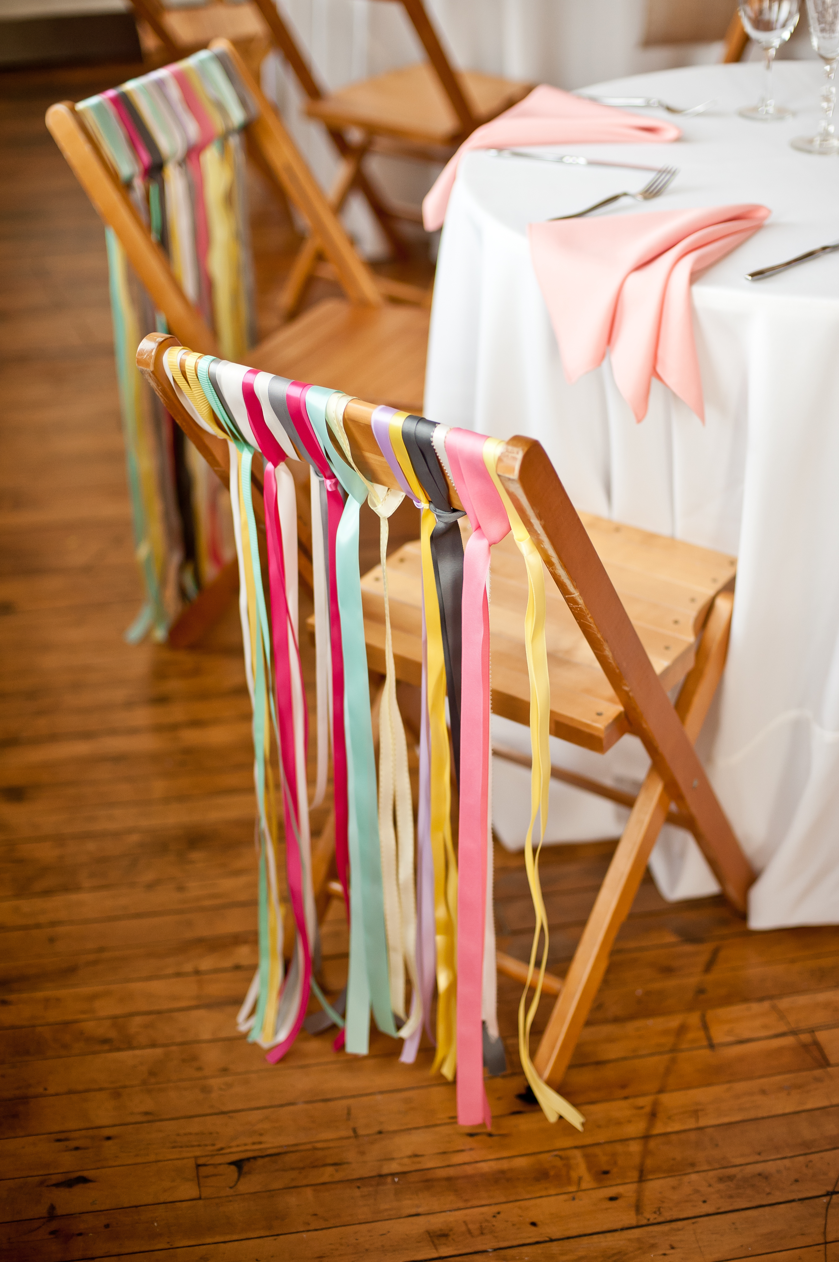 Ribbon Chair Decor