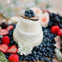 Mini Cheese Wedding Cake