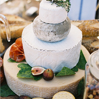 Assorted Cheese Wedding Cake