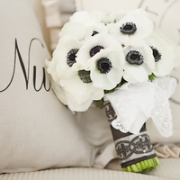 Wedding Color Palettes: Black & White