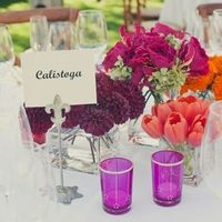 Vibrant Purple Votives