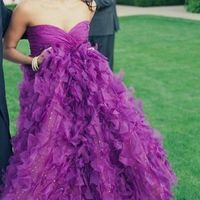 Purple Wedding Gown