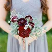 Fall Bridesmaid Bouquet