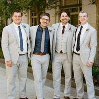 Mix 'n' Matched Groomsmen