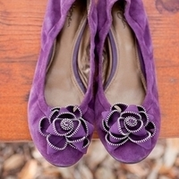 Radiant Orchid Wedding Shoes