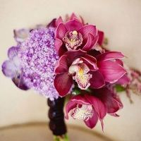 Purple and Raspberry Bouquet
