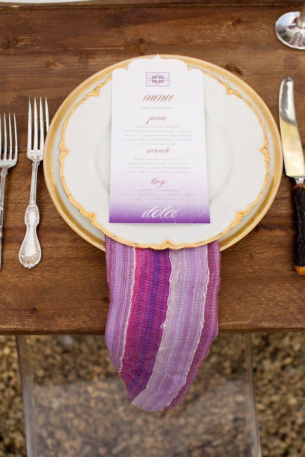 Pretty Purple Bridal Shoes