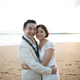 1386616113 small thumb purple beach wedding 17