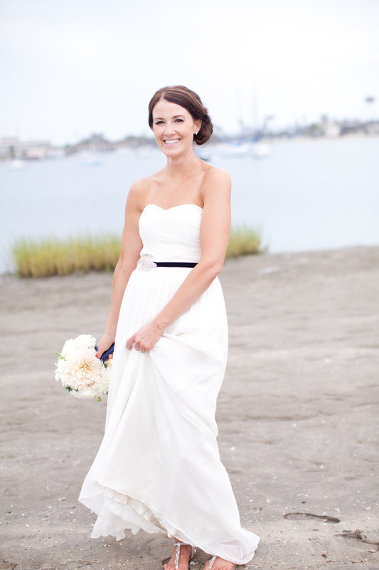 Beautiful Beach Bride