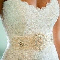 Structured Lace Bodice