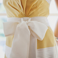 Preppy Yellow Bridesmaid Dress