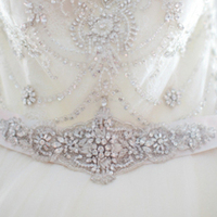 Beaded Belt and Bodice