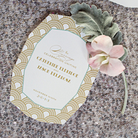 Art Deco Ceremony Programs
