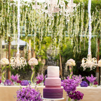 3 Ways To Incorporate Radiant Orchid Into Your Wedding Cake