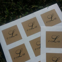 Personalized Kraft Labels
