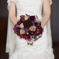 Aubergine Winter Bouquet