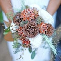 Pinecone Winter Bouquet
