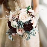 Rose and Dahlia Winter Bouquet