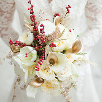 Red Berry Winter Bouquet