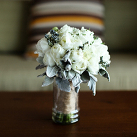 White Rose Winter Bouquet