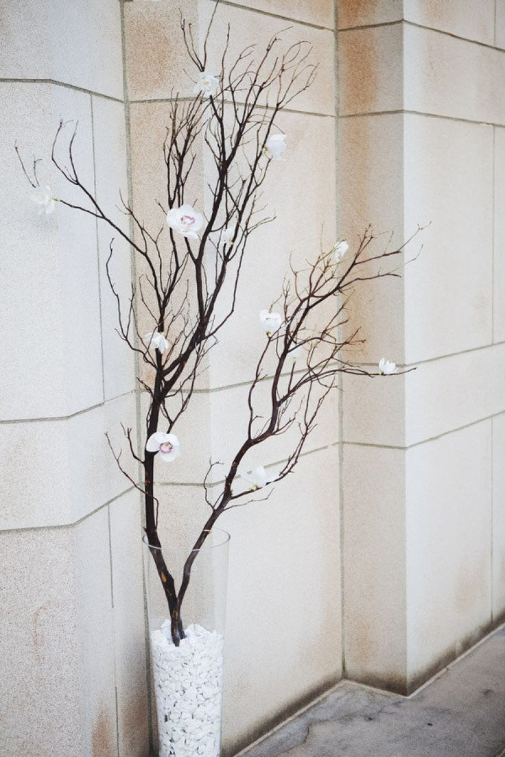 Winter Wedding Branches