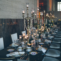Romantic Winter Wedding Decor
