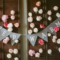 Winter Wedding Banner