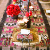 Boho-Chic Winter Place Setting