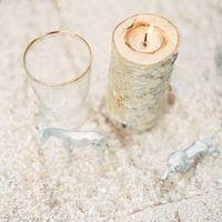 Metallic Winter Wedding Decor