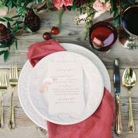 Rustic Red Place Setting