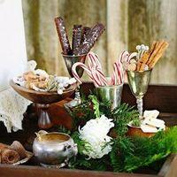 Winter Wedding Desserts